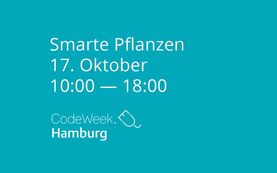 Smarte Pflanzen @CodeWeek
