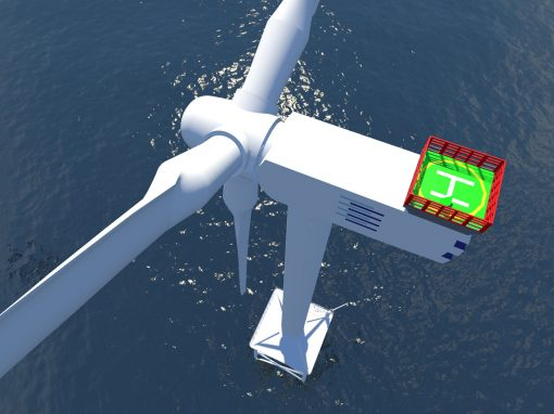 Virtuelle Offshore-Windenergieanlage