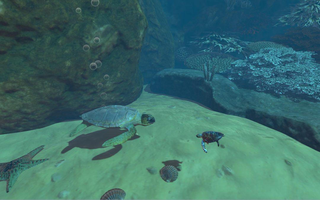 VR Unterwasserwelt